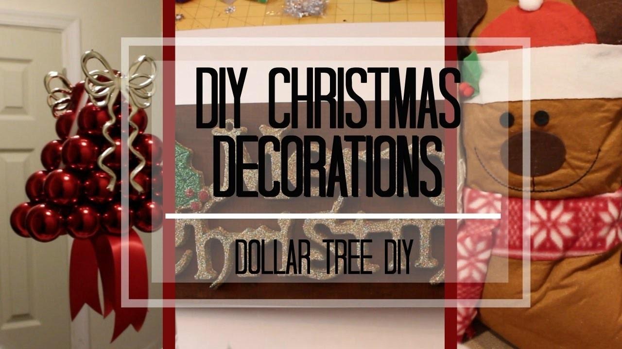 DIY CHRISTMAS DECORATIONS 2016!  | Easy DIY Holiday Room Decor