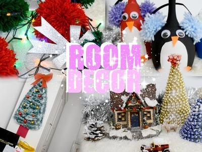 DIY CHRISTMAS ROOM DECOR | EASY