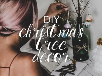 DIY Christmas Tree Decor (Rustic Holiday DIYs)