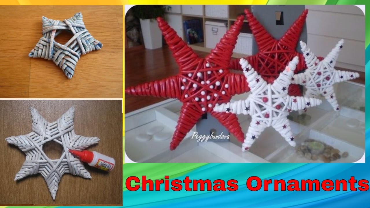 DIY Handmade Christmas ornaments | Home Decor | Xmas Ideas 2016 -2017