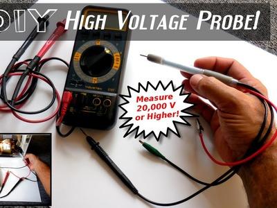 DIY High Voltage Measuring Probe For DMM's