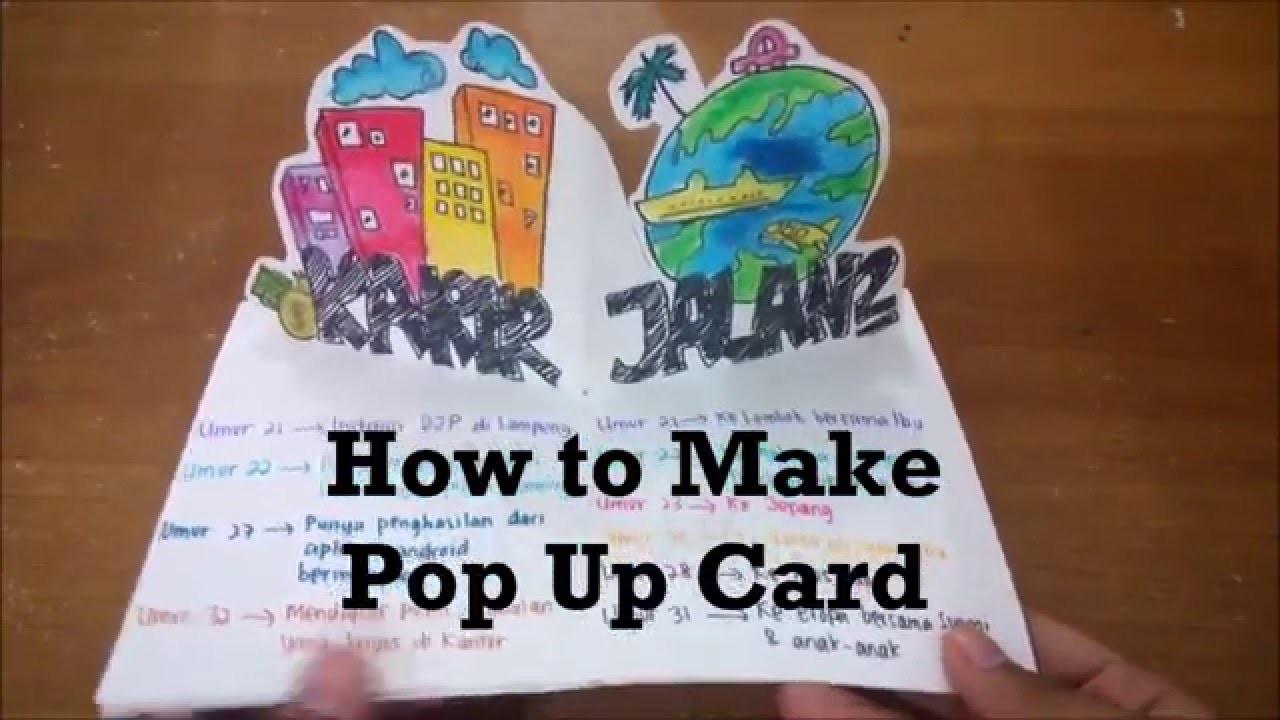 DIY How to Make a Pop Up Card ( Tutorial )
