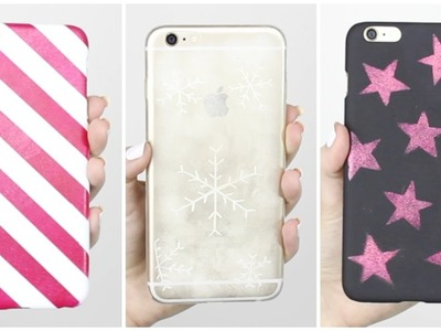 DIY iPhone Cases Part 3 - CHRISTMAS EDITION!