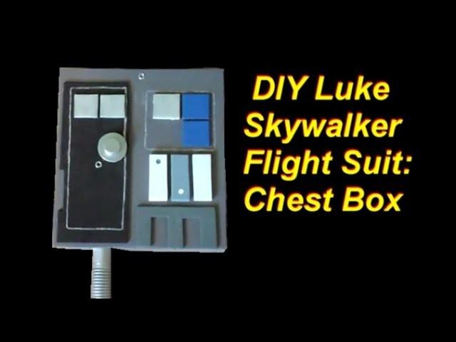 DIY Luke Skywalker Costume (x-wing pilot): Chest Box