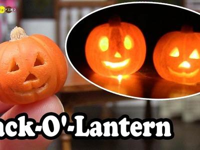 DIY Miniature Jack O' Lantern ミニチュアジャック・オー・ランタン作り