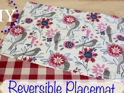 DIY Reversible Placemats | Home Decor Tutorial