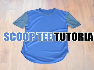 DIY: Scoop Tee Tutorial | From Scratch #22