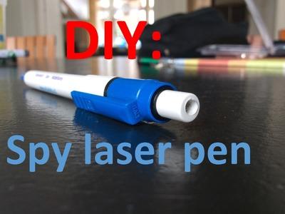 DIY: Spy Laser Pen | Easy Steps | HD