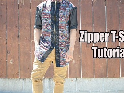 DIY: Zipper T-shirt | From Scratch #21