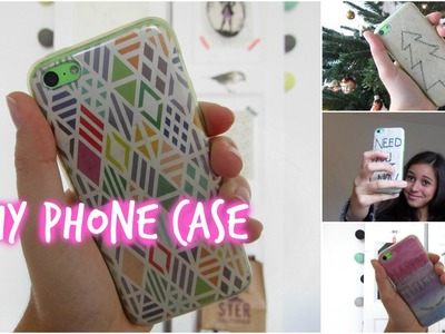 Easy and quick DIY phone cases + christmas phone case