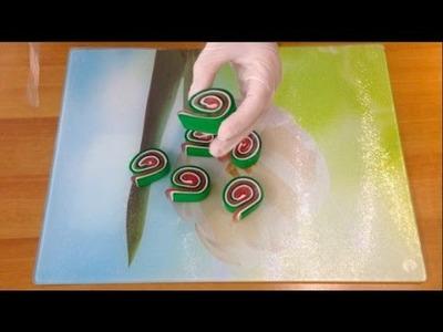 EASY DIY SOAP MAKING-MELT AND POUR GUEST SOAP- LOLLIPOP SOAP FOR BATHROOM DECORATION-PART.2