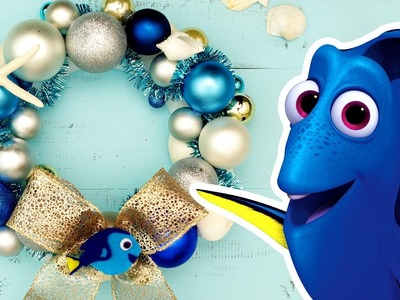 Finding Dory DIY Holiday Wreath | Disney Family