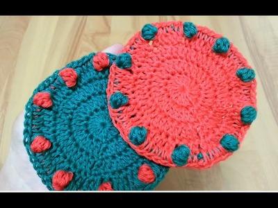How to crochet a coaster | !Crochet!