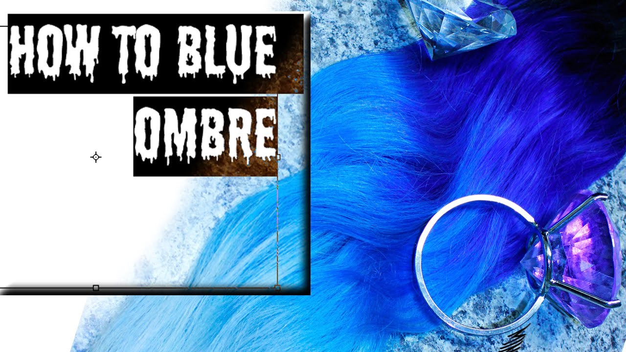 HOW TO DIY UTRA BLUE OMBRE by Mintyoreos