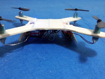 How To make a Mini Quadcopter - DIY Quadcopter
