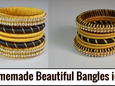 How to Make Beautiful Bangles at Home | Diy Fancy Bangles at Home