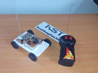 How To Make Car DIY mini remote control