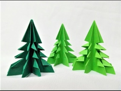 How to make simple & easy paper christmas tree | DIY Paper Craft Ideas, Videos & Tutorials.
