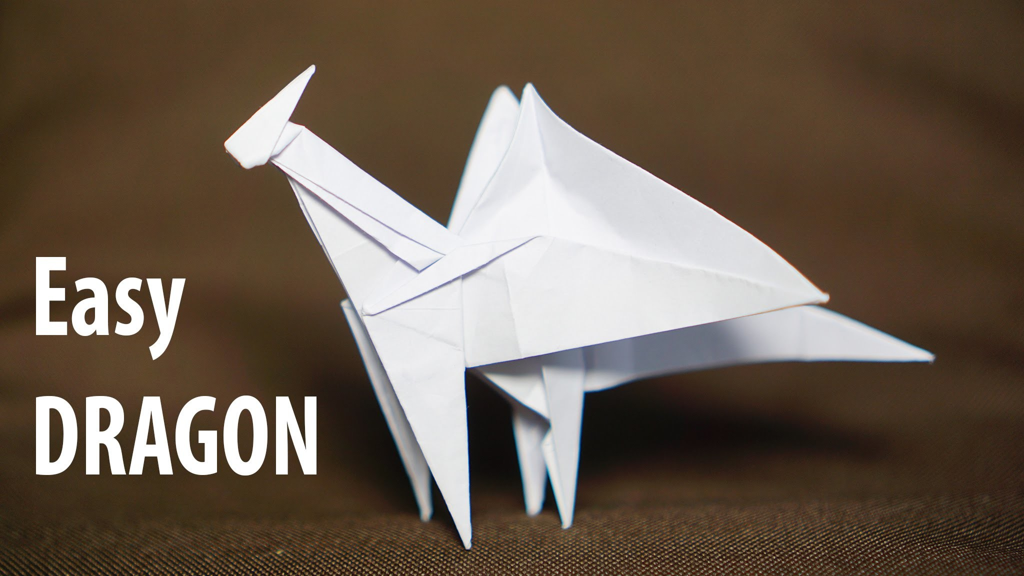 Origami easy Dragon tutorial - DIY (Henry Phạm)