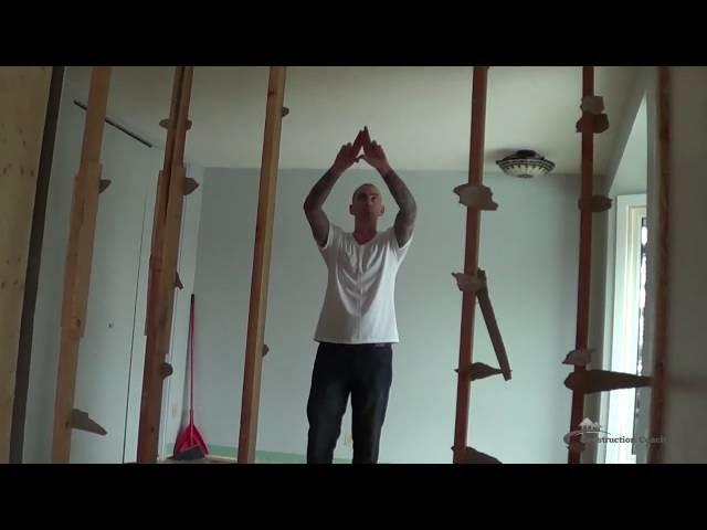 Removing a Load Bearing Wall - DIY