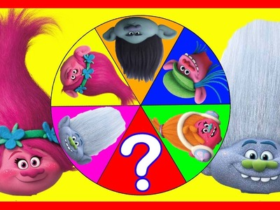 Trolls Movie Spin The Wheel Game with PJ Masks Mystery Guest, Slime, Squishy Toys, Peppa Pig, Mickey