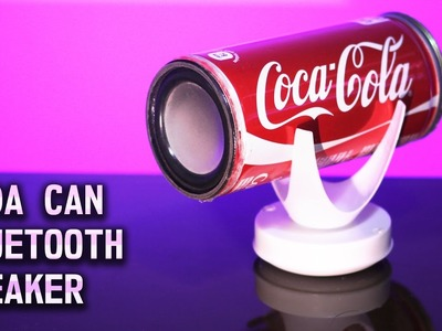 Turn Soda Can into a Wireless Bluetooth 4.0 Stereo Speaker - DIY LIFE HACK