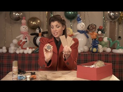 What's inside Kirstie's Christmas craft tool box?
