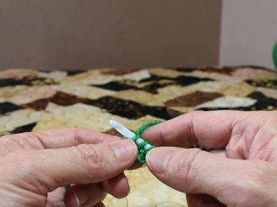 Crochet I-cord tutorial