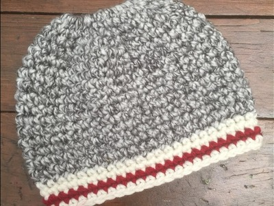 Crochet Messy Bun Tutorial