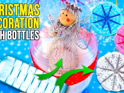 DIY Christmas RECYCLED decoration
