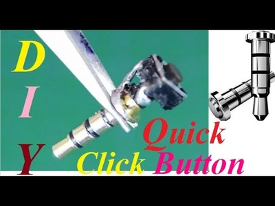DIY How to make Click Quick Button to Attend phone calls(Simple Tutorial)