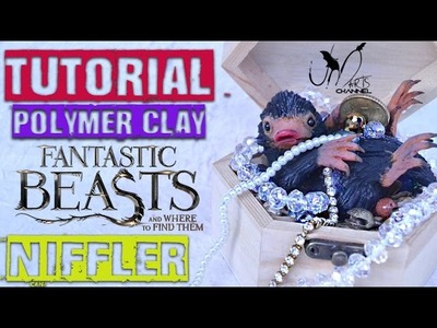 Diy Niffler with Clay - Fantastic Beasts And Where to Find Them - with sbknPENNY