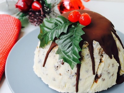 Easy Christmas recipe: How to make 3 ingredient frozen Christmas pudding