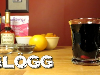 Glögg - How to Make Swedish Mulled Wine with Red Wine, Brandy & Spices