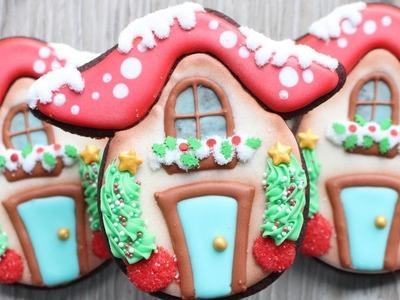 Holiday Toadstool Cookie - How to make cute mushroom cookies