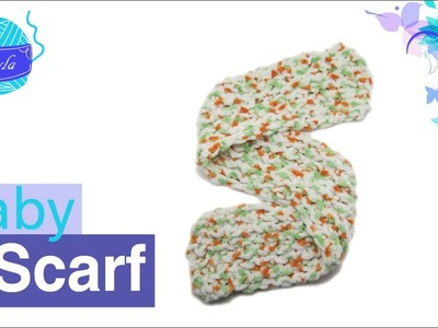 How to knit a Baby Scarf