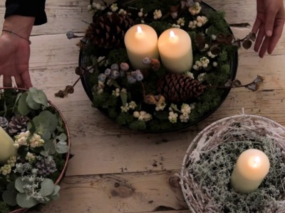 How to make a centrepiece for your Christmas table | John Lewis