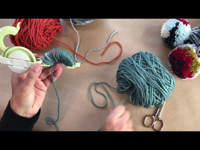 How to Make a Color Block Pom-Pom