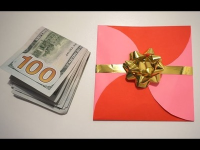 HOW TO MAKE A CUTE ENVELOPE FOR CASH GIFTS