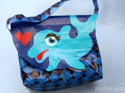 How to Make a Duct Tape Dolphin Bag | Sophie's World