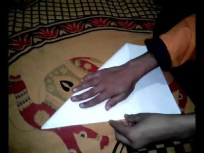 How to make a easy rangoli with paper (mp)