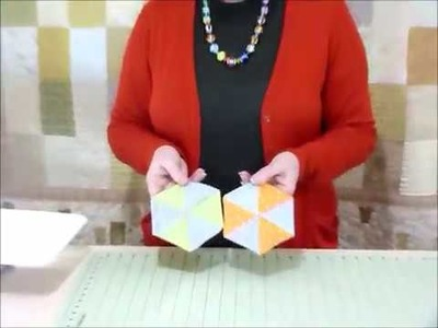 How to make a hexagon mug mat or coaster - Quilting Tips & Techniques 205