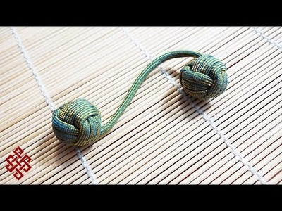 How to Make a Monkey's Fist Paracord Begleri Tutorial