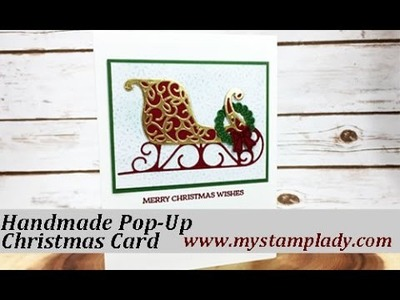 How To Make A Pop Up Christmas Card Stampin' Up!