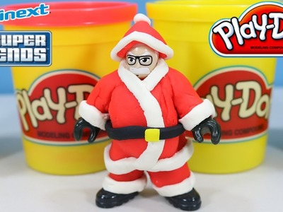 How To Make a Santa Suit out of Play-Doh!