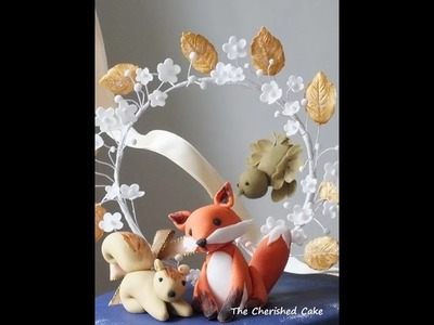 How to make a Simple Sugarcraft Squirrel for beginners (by The Cherished Cake)