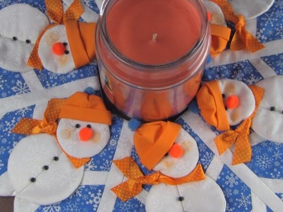 How to make a Snowman Centerpiece - Some of My Best Friends are Flakes