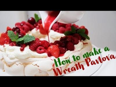 HOW TO MAKE A WREATH PAVLOVA FOR CHRISTMAS | VLOGMAS DAY 17 | TamingTwins.com