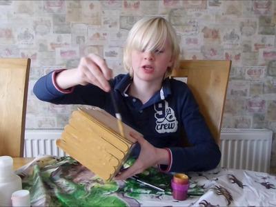 How To Make An Anglo Saxon House - #Vlogmas16