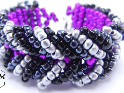 How to Make Chevron Bracelet | Beading Tutorial